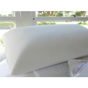 THE HIGH AND SOFT PILLOW - high profile, extra length, medium to soft density, Talalay all natural latex