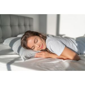 THE STOMACH SLEEPER - 32% off. Low and ever so soft. Talalay all natural latex.