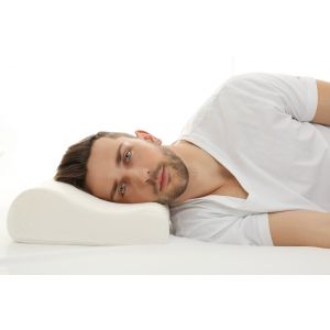 THE STOP SNORE PILLOW - 40% discount. Medium profile, contoured, Talalay all natural latex.
