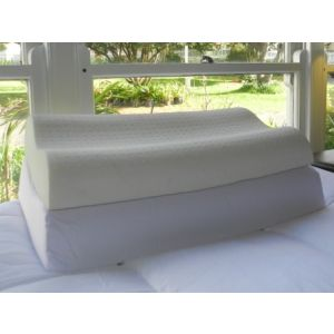 THE THERAPEUTIC PILLOW - 40% discount.  Medium profile, contoured, Talalay all natural latex.